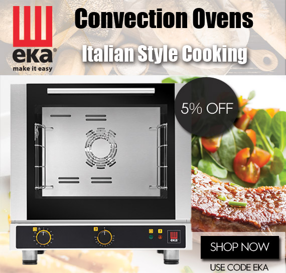 EKA Commercial Convection Ovens Vancouver