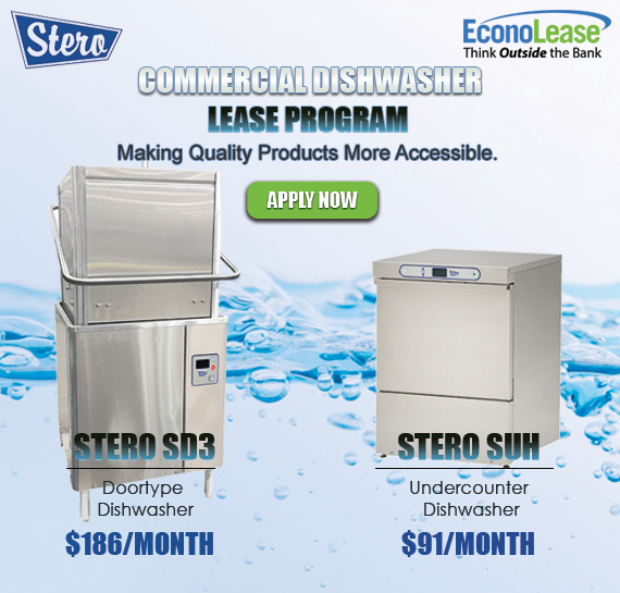 Lease Stero Commercial Dishwashers Vancouver