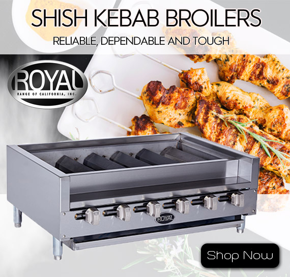 Shop Royal Shish Kabob Broilers Vancouver