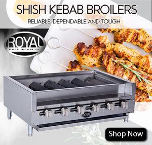 Commercial Broiler Vancouver Royal Kebab Broiler