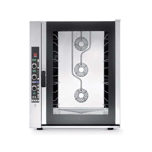 EKA EKFA1064-EUD Full Size Digital Electric Convection Oven With Humidity - 3Ph, 240V