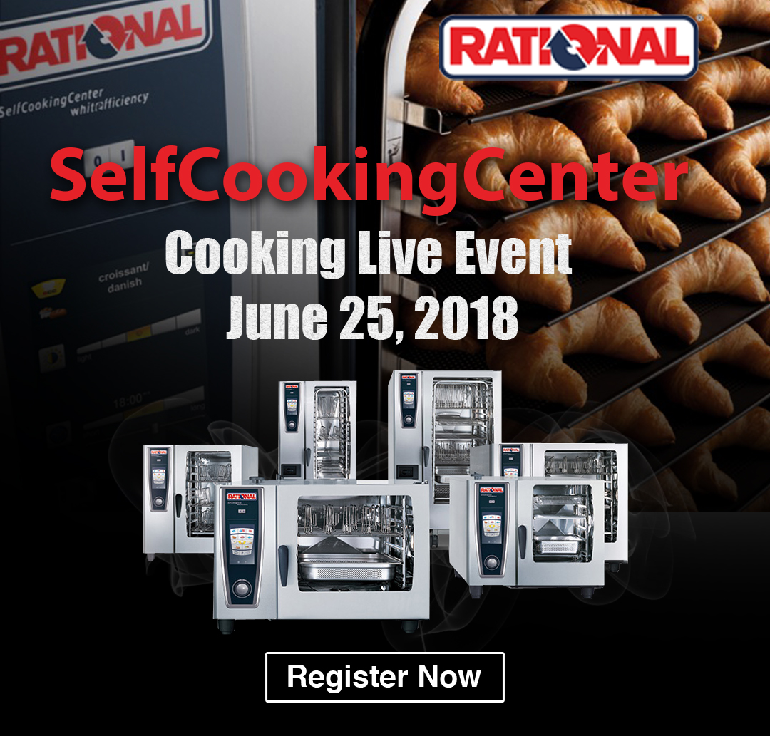 Rational SelfCooking Show Live at Vortex Restaurant Equipment in Vancouver