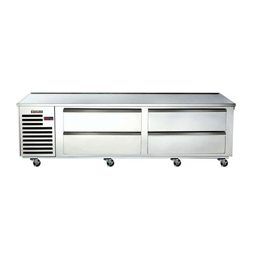Traulsen TE072HT 72″ 4 Drawer Refrigerated Chef Base