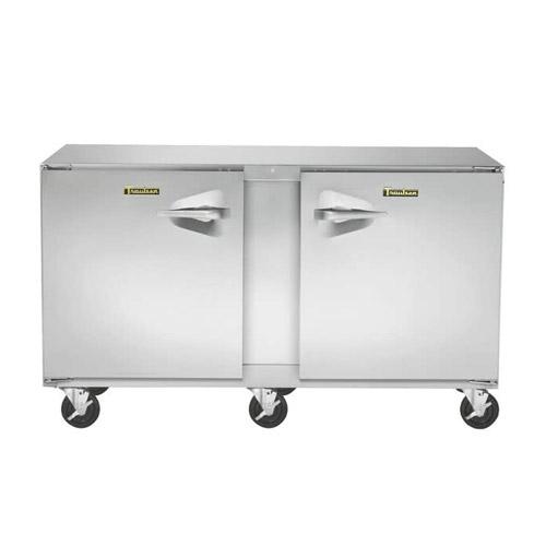 Traulsen UHT60-LR 60″ 2 Door Undercounter Refrigerator