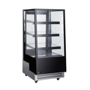 "EFI CGCM-2657 26"" Straight Glass Floor Refrigerated Bakery Case"