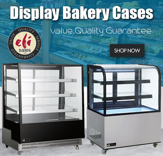 Shop EFI Commercial Bakery Case Sale In Vortex Vancouver