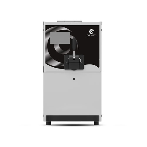 Gel Matic BC-150-GR Countertop Soft Serve Ice Cream Machine With One Hopper