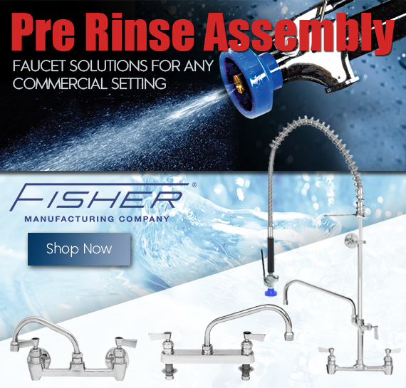 Shop Fisher Commercial Faucet in Vancouver