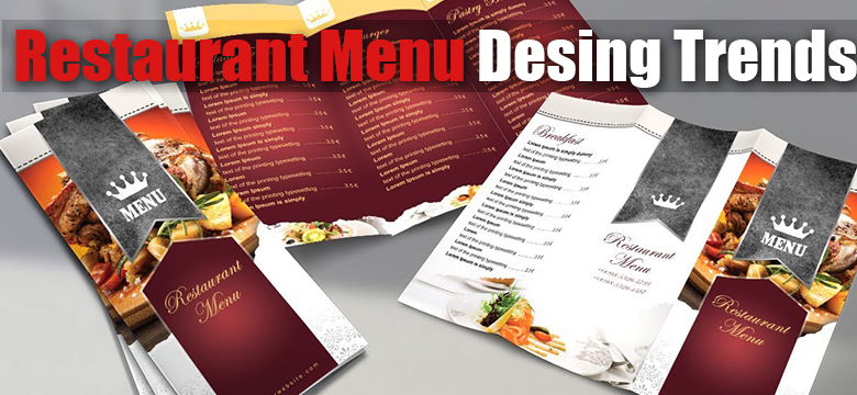 Restaurant Menu Design Trends