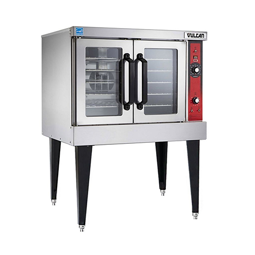 Vulcan VC4GD Single Standard Depth Full Size Natural Gas Convection Oven