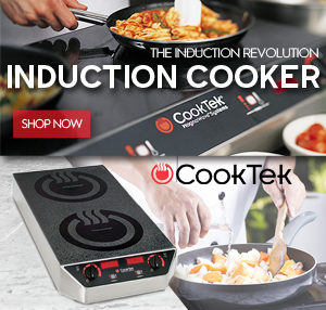 CookTek Induction Cooking Equipment Vancouver Canada