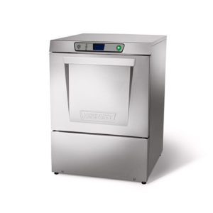 Hobart LXEH-2 High Temperature 32 Racks / Hour Undercounter Dishwasher