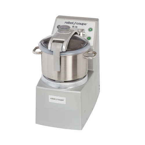 Robot Coupe R15 Vertical Food Processor With 15 Qt Stainless Steel Bowl