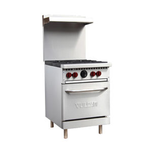 Vulcan SX24-4B 24″ Gas Range With 4 Open Burner