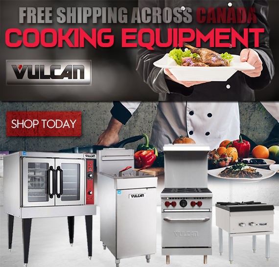 Vulcan Cooking Equipment Vancouver with Free Shipping
