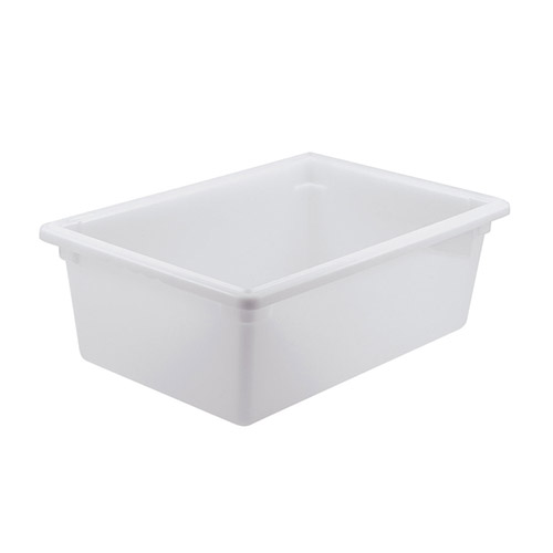 Winco PFFW-9 Full Size White Food Storage Box - 9
