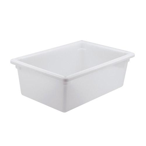 Winco PFFW-9 Full Size White Food Storage Box - 9