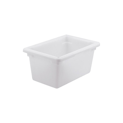 Winco PFHW-9 Half Size White Food Storage Box - 9