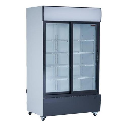 New Air NGR-115-S 53″ 2 Sliding Door Glass Refrigerator Merchandiser