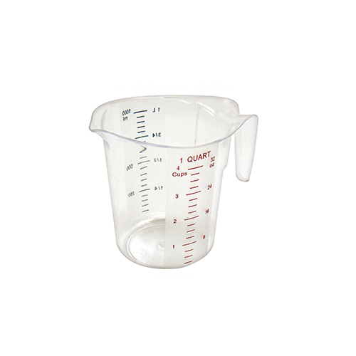 Winco Polycarbonate Measuring Cup 1-Pint