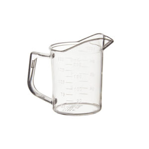 Winco PMU-25 1 Cup Polycarbonate Measuring Cup