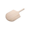 """Winco WPP-1222 22"""" Wooden Pizza Peel With 12"""" X 13"""" Blade"""