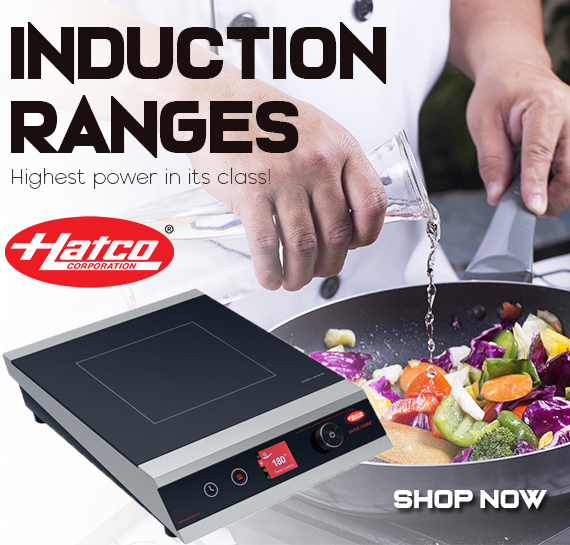 Shop Hatco Induction Cookers Vancouver BC