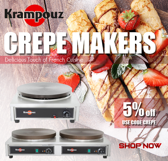 Shop Krampouz Commercial Crepe Maker Vancouver BC Canada