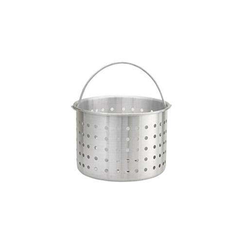 Winco ALSB-20 20 Qt Aluminum Stock Pot Steamer Basket