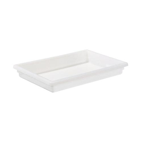 Winco PFFW-3 Full Size White Food Storage Box - 3