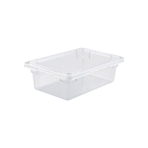 Winco PFSH-6 Half Size Clear Food Storage Box - 6