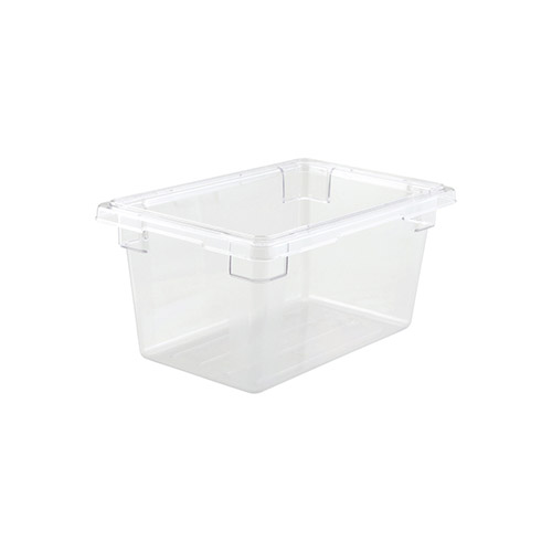Winco PFSH-9 Half Size Clear Food Storage Box - 9