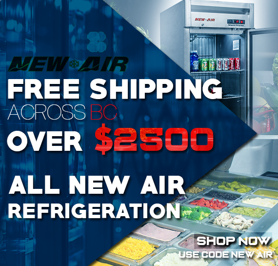 Shop New Air Commercial Refrigeration Free Shipping BC