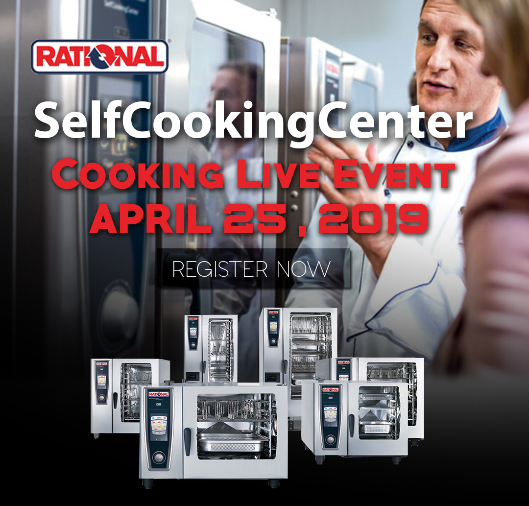 Rational-SelfCooking Combi-Oven-Live-Cooking Event Vancouver BC Canada