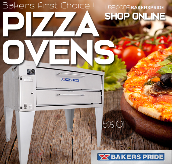 Shop Bakers Pride Pizza Ovens Vancouver BC