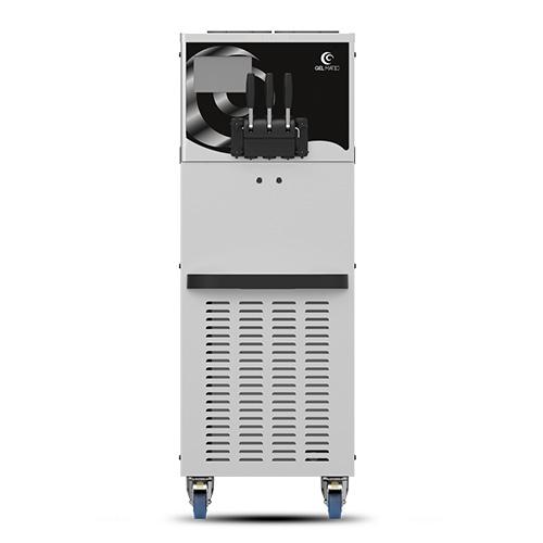 Gel Matic BV-250-PM Floor Twin Soft Serve Ice Cream Machine With Three Hopper