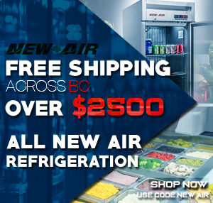 New Air Commercial Refrigeration Equipment Restaurant Refrigeration Vancouver