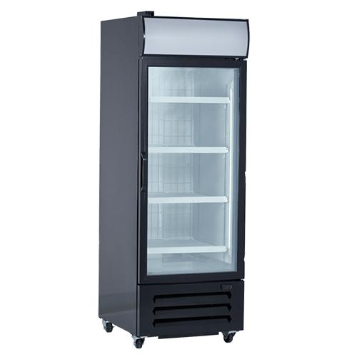 New Air NGF-054-H One Door Glass Freezer Merchandiser