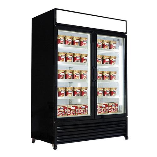 New Air NGF-122-H Two Door Glass Freezer Merchandiser