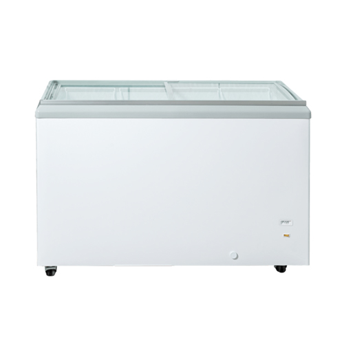 New Air NIF-60-FG 60″ Flat Glass Top Ice Cream Freezer