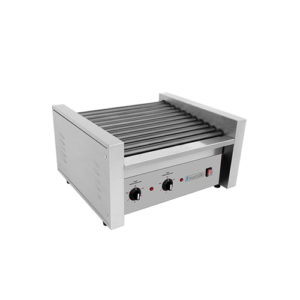 "Eurodib SFE01600 11"" x 13"" Electric 20 Hot Dog Roller Grill"