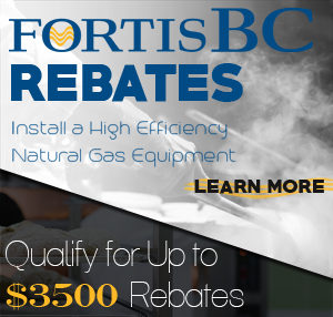 FortisBC Commercial Kitchen Equipment Rebate BC