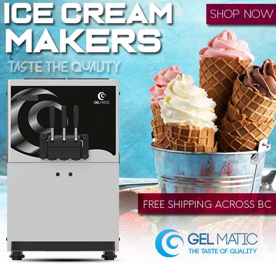 Gelmatic Soft Ice Cream Machine Free Shipping