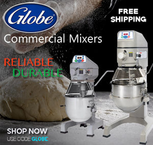 Globe Commercial Mixers Free Shipping BC