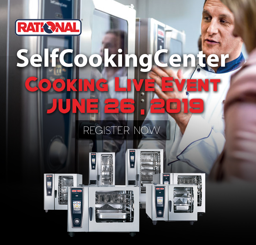 Rational SelfCooking Combi Oven Live Cooking Event Vancouver BC Canada
