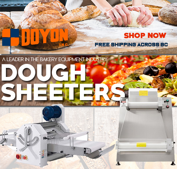 Doyon Commercial Sheeters Rollers Vancouver Canada