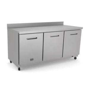 Kelvinator KCHUCWT72R 72″ 3 Door Worktop Refrigerator