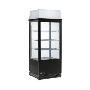 EFI CGCM-1742-B 17″ Straight Glass Black Floor Refrigerated Bakery Case