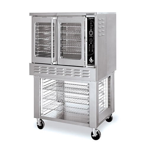 American Range ME-1 Single Bakery Depth Full Size Electric Convection Oven - 1Ph, 240V