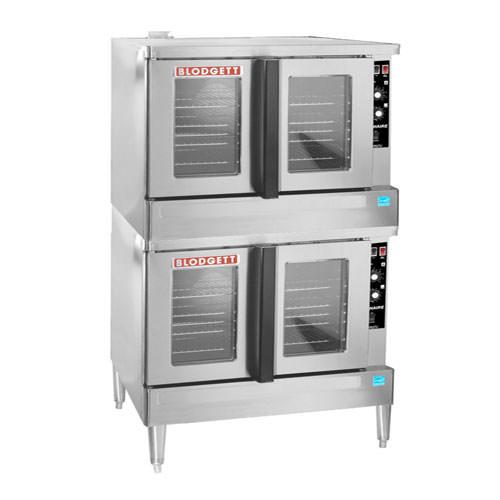 Blodgett ZEPH-100-E-DBL Double Standard Depth Full Size Electric Convection Oven - 3Ph, 208V